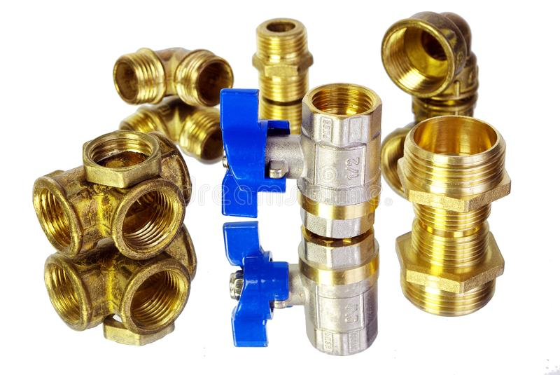 Download Water Tap And Fittings For Supply Plumbing Fixtures Piping Parts Sanitary