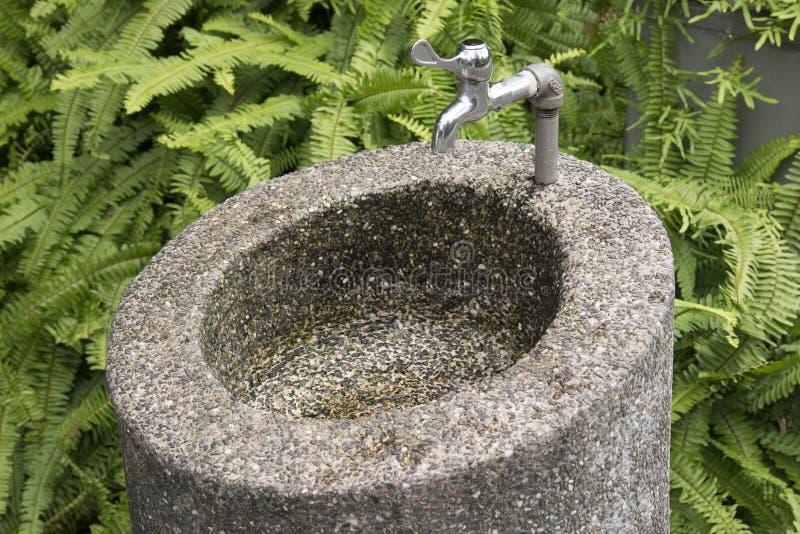 Water tap in garden. A water tap in garden stock photography