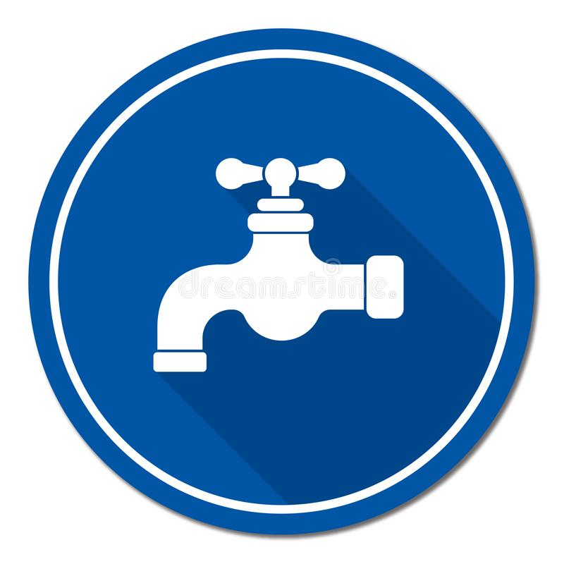 Water tap icon. Vector illustration vector illustration