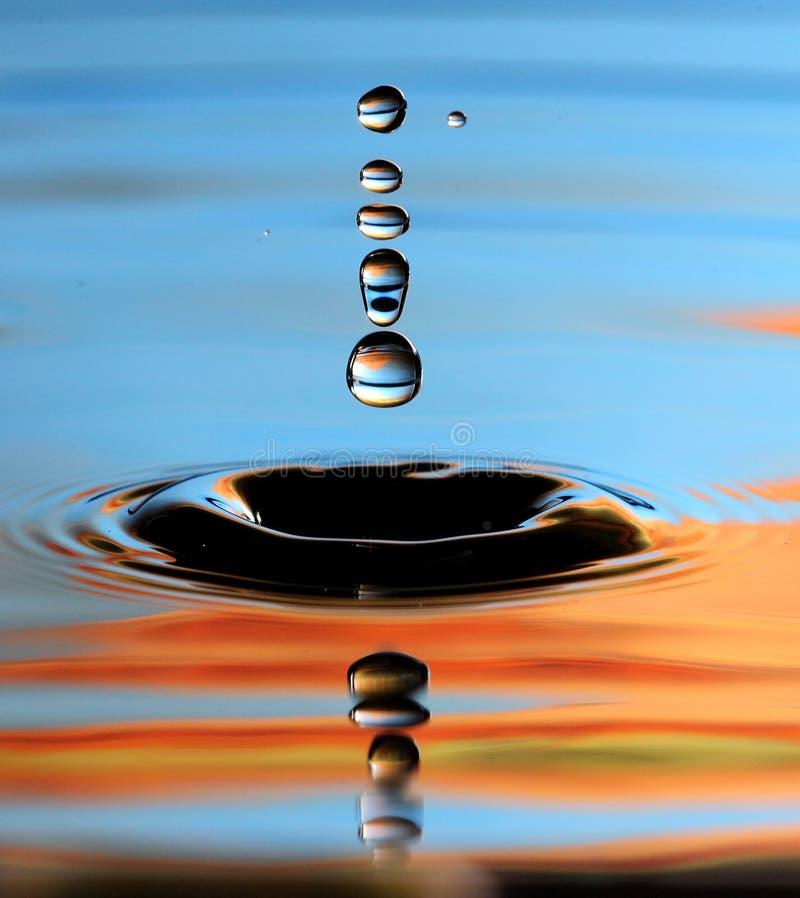 Water tappar royaltyfria bilder