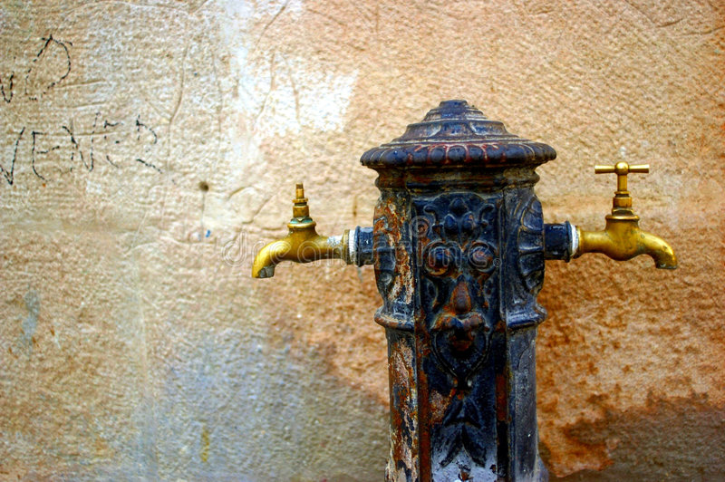 Download Water Taps In The Street Stock Photography - Image: 2285372