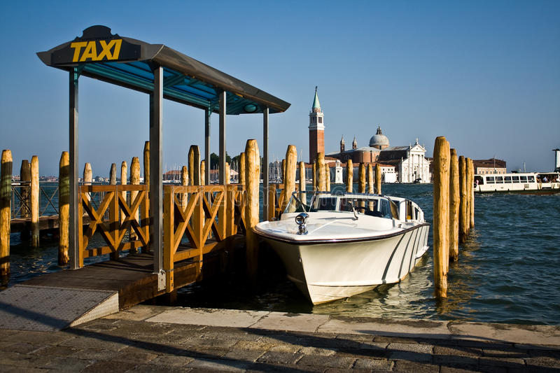 Download Water Taxi Stand, Venice stock image. Image of ocean - 15670111