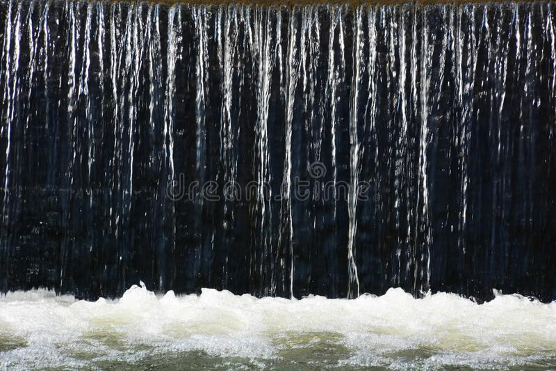 Water texture. Flow of water texture / Wter background royalty free stock images