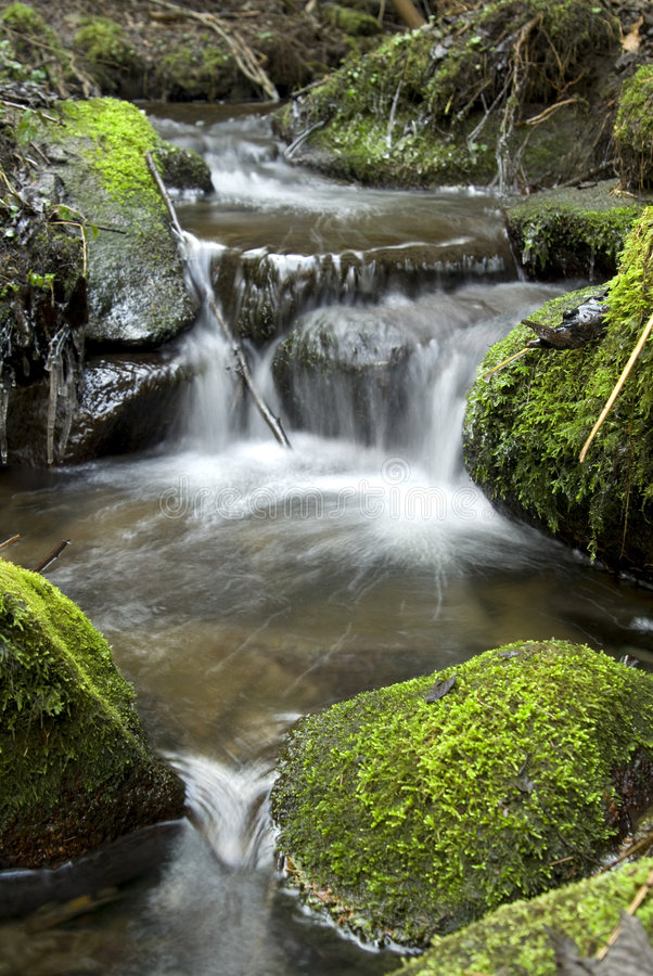 Free Water Torrent Royalty Free Stock Photo - 4811455