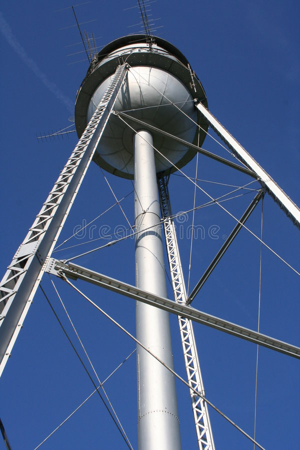 Download Water Tower stock photo. Image of tower, historic, blue - 1713526