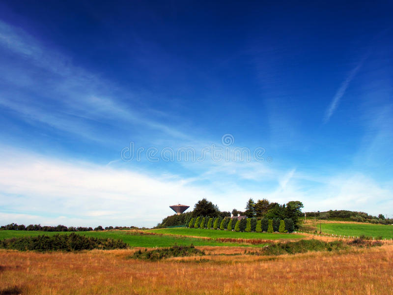 Download Water Tower In Field stock photo. Image of meadow, water - 26194318