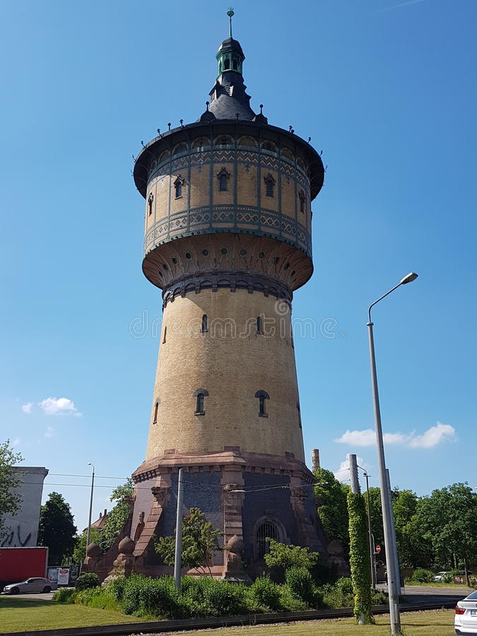 Water Tower in Germany stock photos