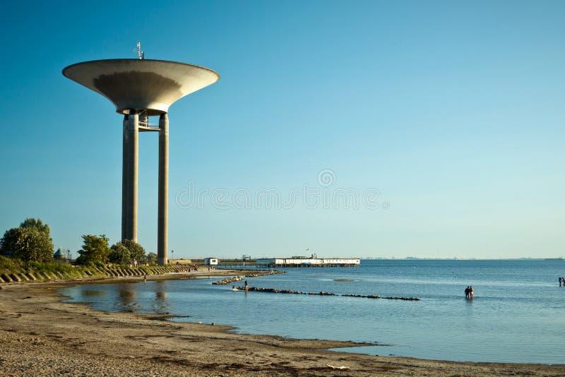 Download Water Tower In Lanskorna, Sweden Royalty Free Stock Images - Image: 33514339