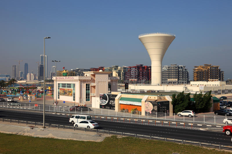 Download Water Tower In Manama, Bahrain Editorial Photography - Image: 39633862