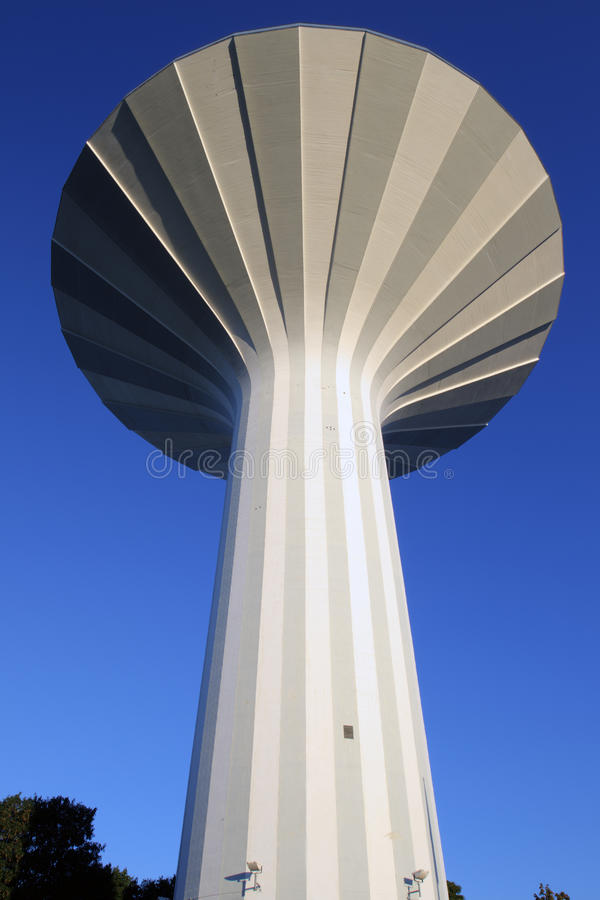 Download Water Tower, Orebro stock image. Image of perspective - 21962657