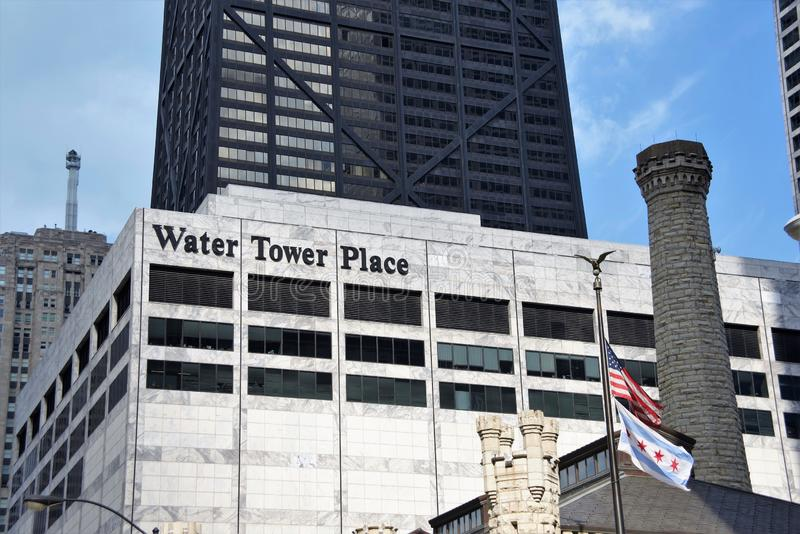 Water Tower Place, Chicago, Illinois royalty free stock photos