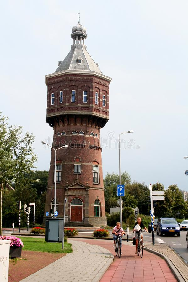 water tower in Renaissance style royalty free stock photos