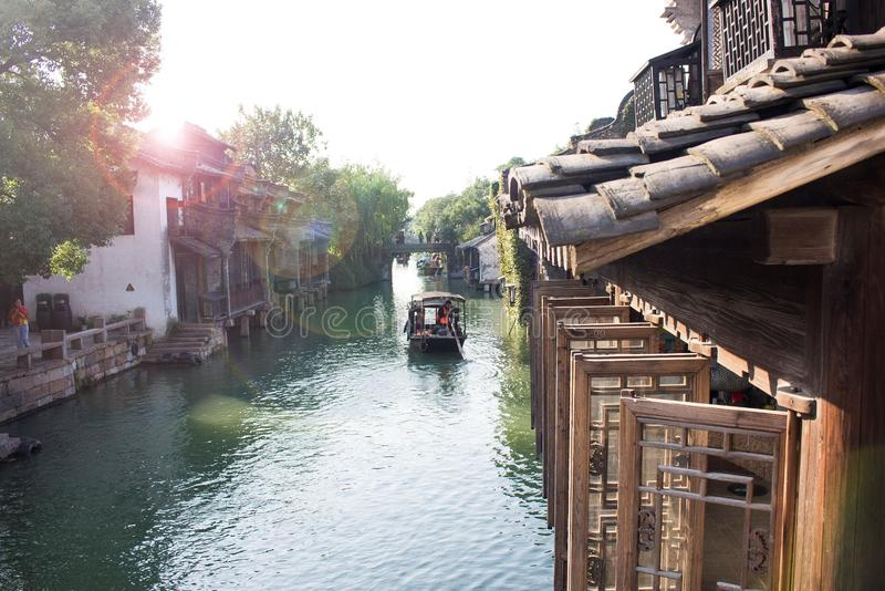 Water town, China royalty free stock photos
