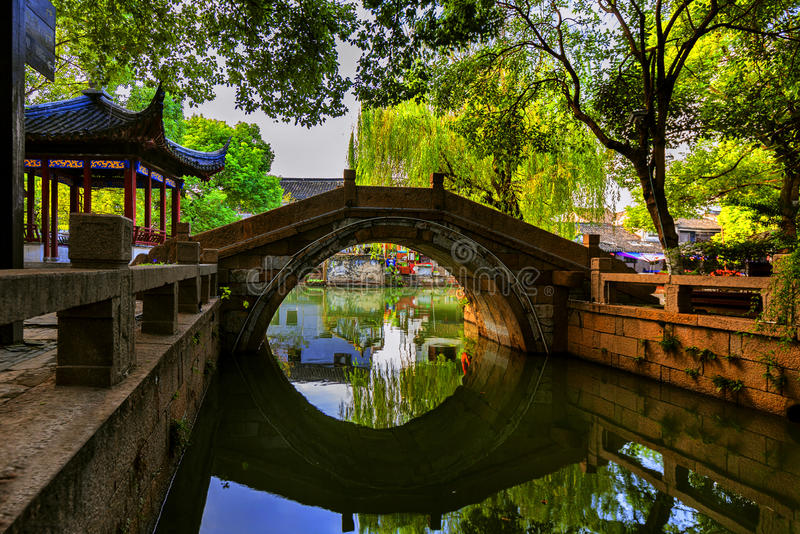 Water town. This is the water town of Suzhou, China - Tongli Ancient Town royalty free stock photos