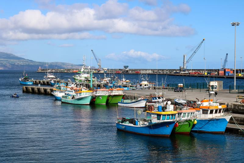 Water Transportation, Harbor, Boat, Sea stock images