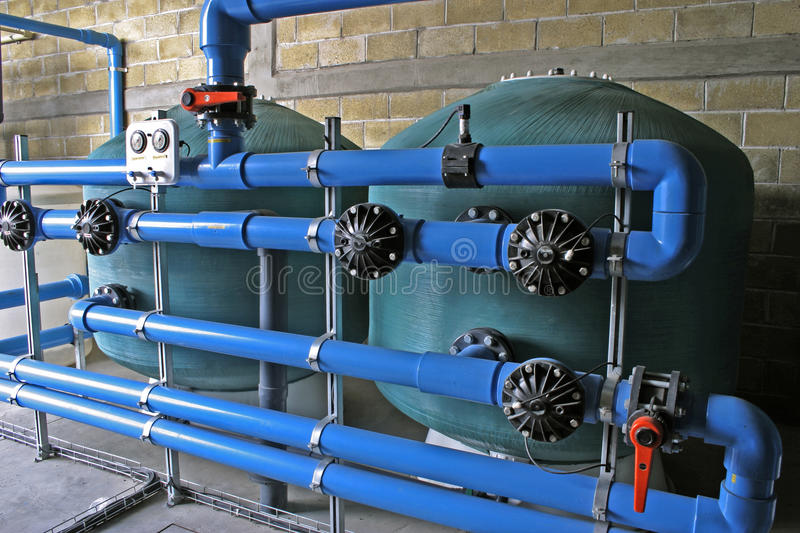 Water treatment. Plant for residential area