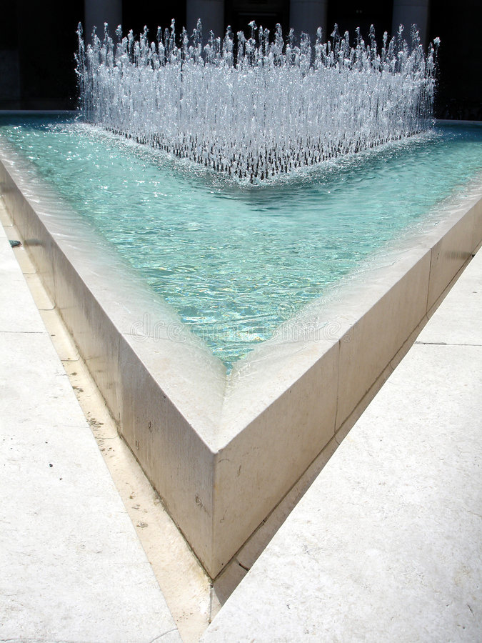 Water In Triangle Stock Photos