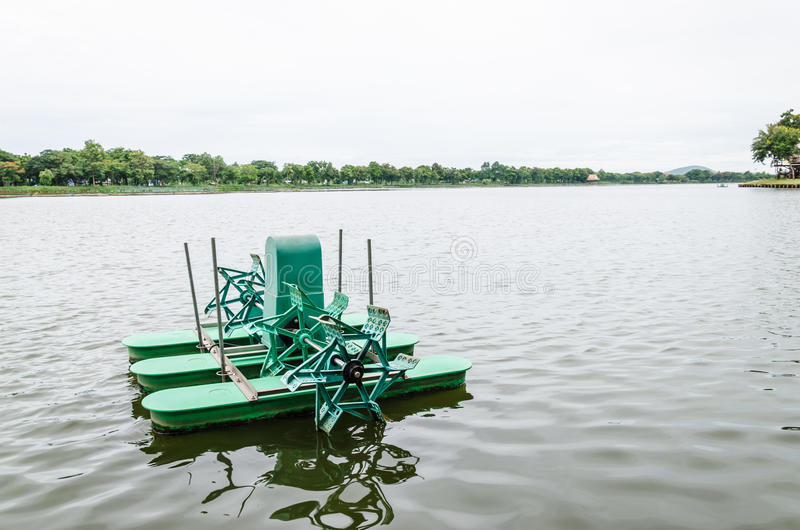 Download Water Turbine For Waste Water Treatment Stock Image - Image: 33945537