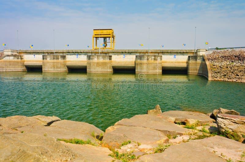 Download Water In Ubolrat Dam, Thailand Royalty Free Stock Image - Image: 29029956