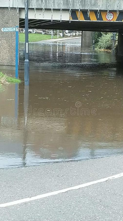 Water under the Bridge royalty free stock images
