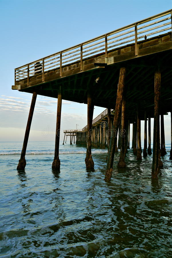 Water Under the Pier royalty free stock photos