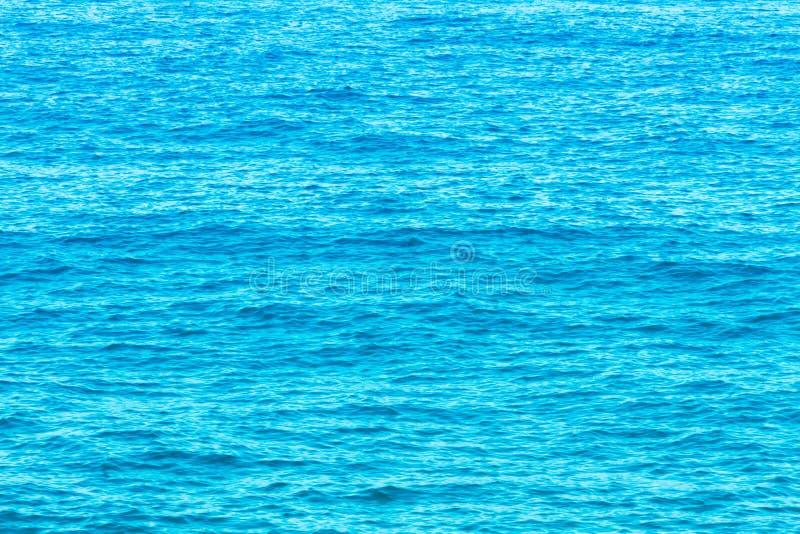Water van de Thyrreense Zee royalty-vrije stock foto's