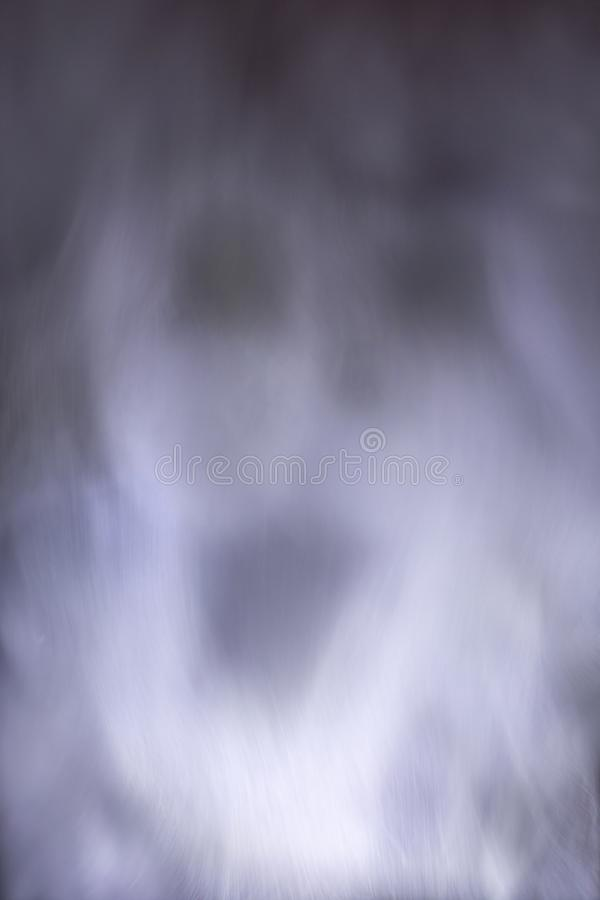Abstract image of water vapor showing a ghost royalty free stock photo
