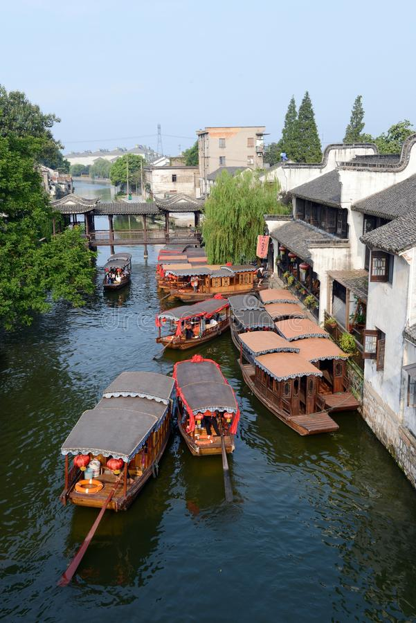 Water Village-Nanxun ancient town royalty free stock photo