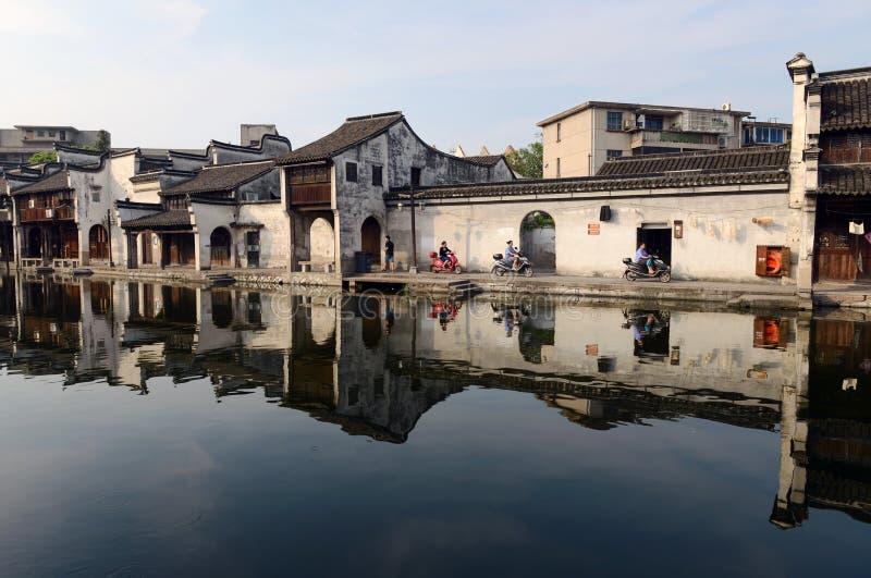 Water Village-Nanxun ancient town stock photo