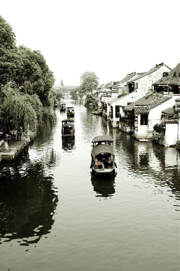 Water Village.xitang royalty free stock image