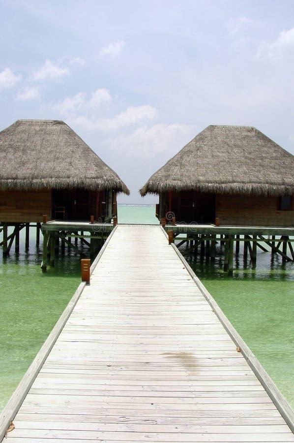 Download Water villas stock image. Image of small, maldives, tropical - 107099