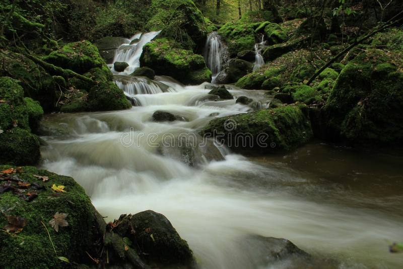 Water, Waterfall, Stream, Nature royalty free stock image
