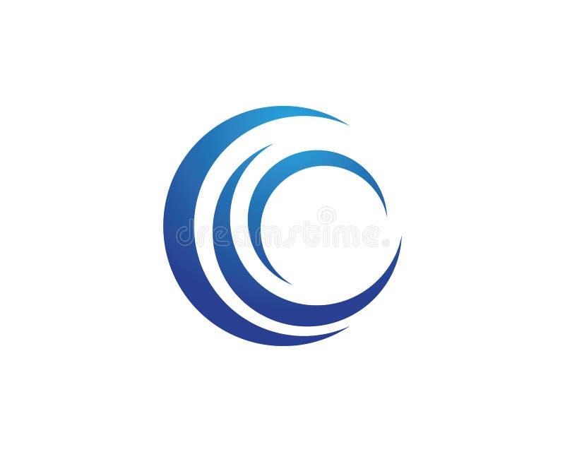 Water wave Logo Template. Vector illustration design vector illustration