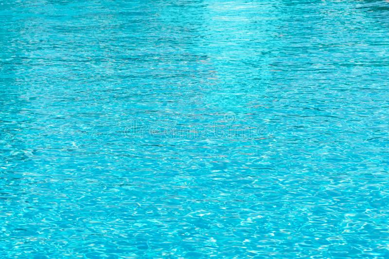 Water waves in the pool stock photography