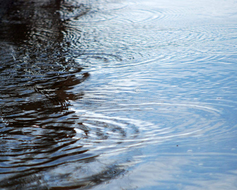 Water wawes royalty free stock photos