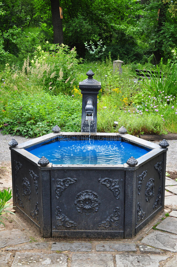 Download Water well stock image. Image of garden, outdoor, fountain - 32346143