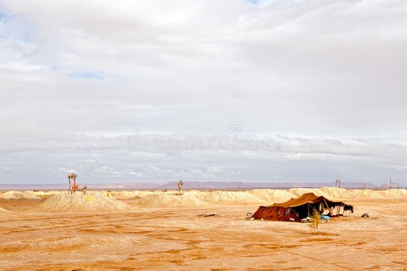 Water Wells In Sahara Stock Image