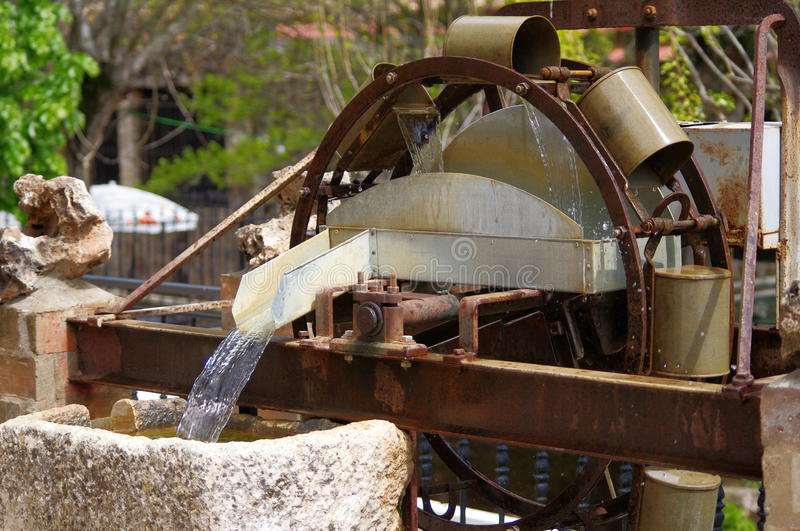 Download Water wheel stock image. Image of turning, buckets, lifting - 24583515