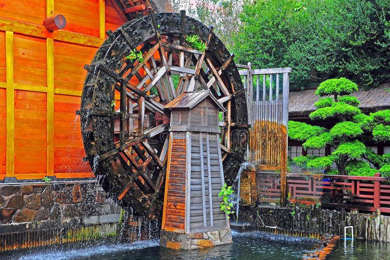 Download Water mill wheel stock photo. Image of water, nature - 27805454