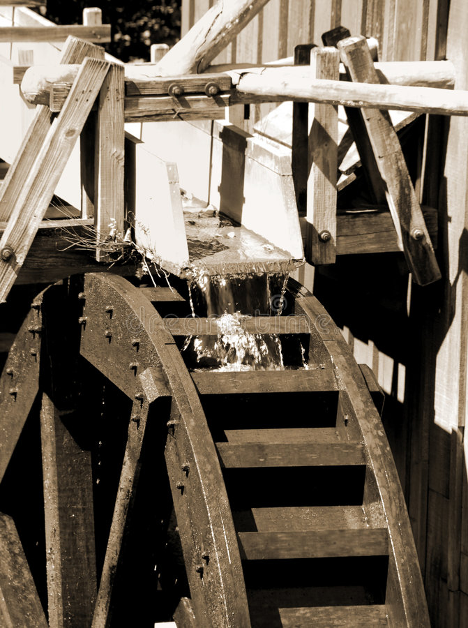 Free Water Wheel At Mill Stock Images - 9023844