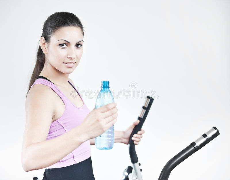 Water After Workout Royalty Free Stock Image