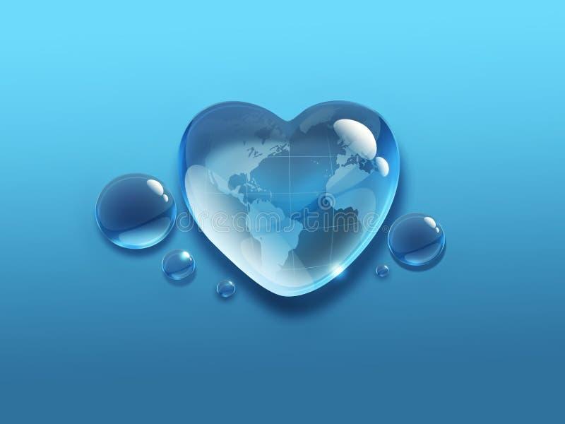 Download Water world stock illustration. Image of ideas, freshness - 32275764