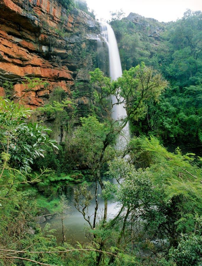 Wateralls en Afrique du Sud photo stock
