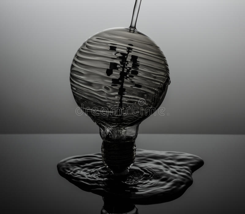 Waterbulb images stock
