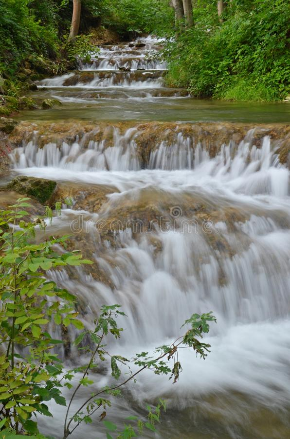 Watercascade stock foto