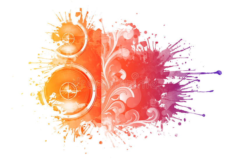 watercolor σύστασης απεικόνιση αποθεμάτων