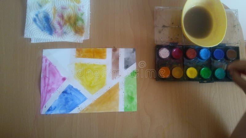 watercolor stockfotos