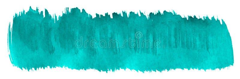 Αφηρημένο υπόβαθρο watercolor θάλασσας κυανό, λεκές, χρώμα παφλασμών, λεκές, διαζύγιο Εκλεκτής ποιότητας έργα ζωγραφικής για το σ ελεύθερη απεικόνιση δικαιώματος