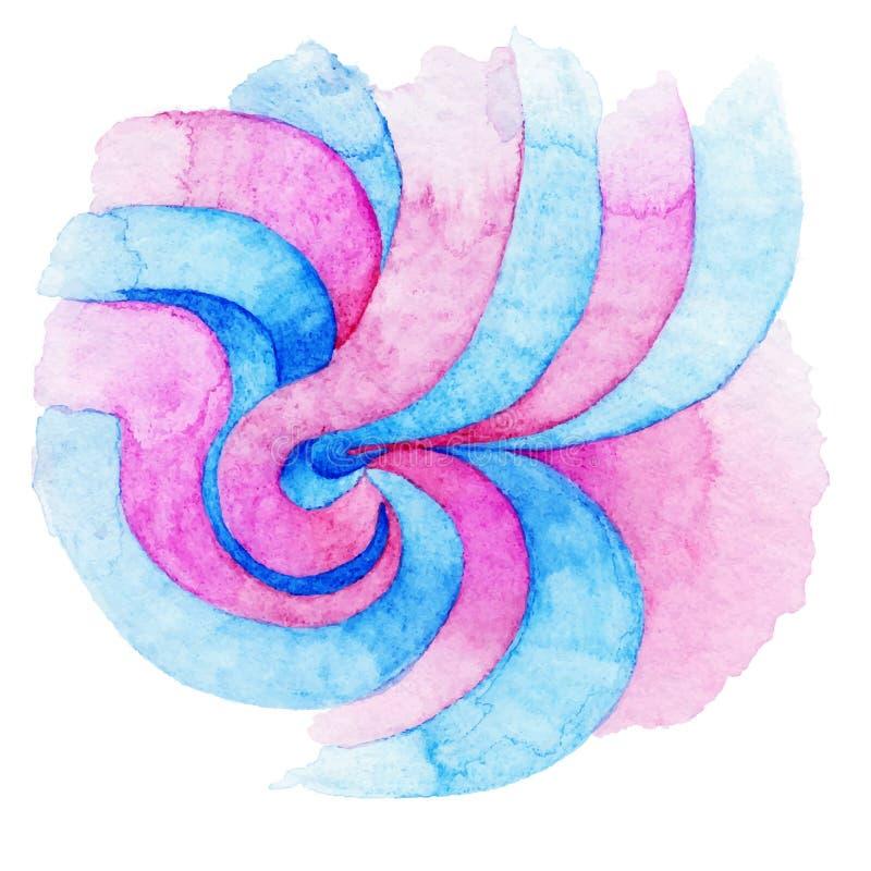 Watercolor διανυσματική απεικόνιση