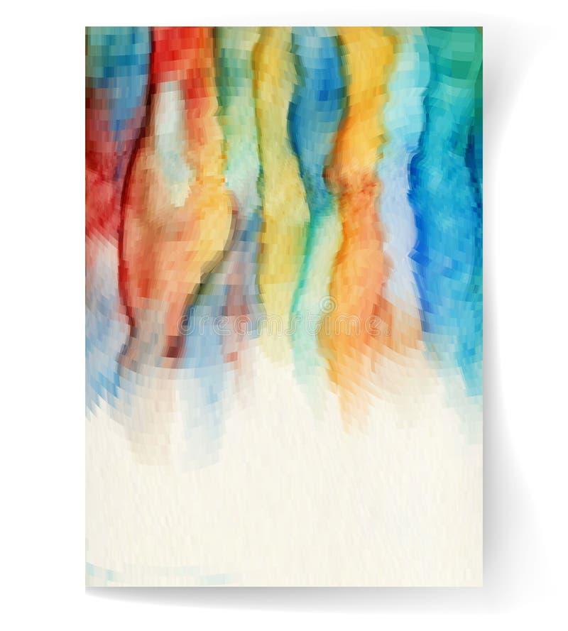 watercolor ilustração stock